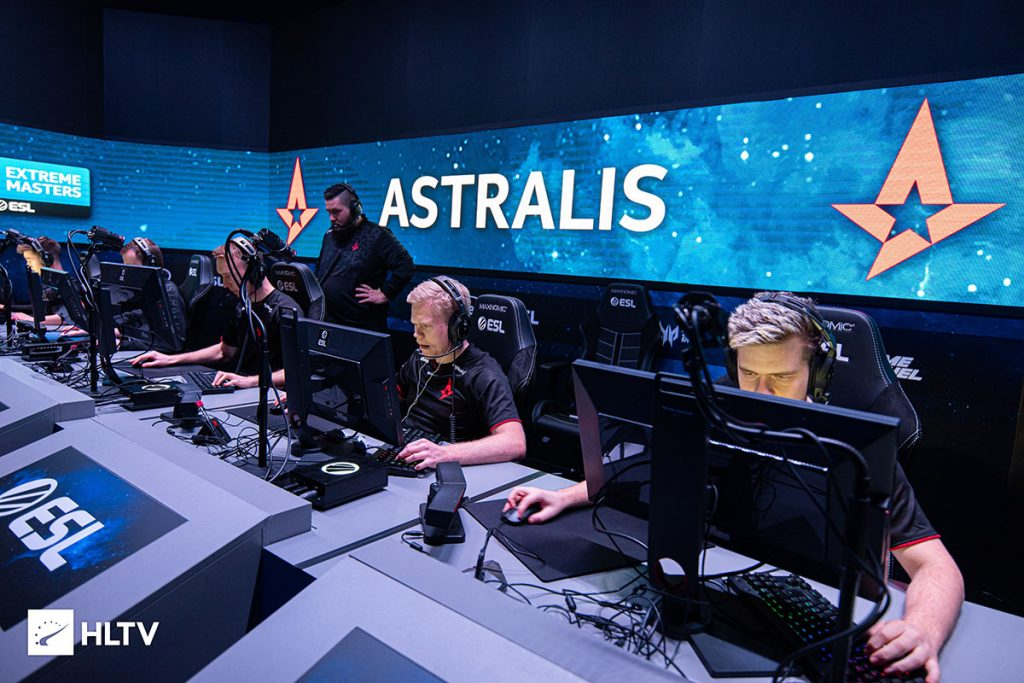 A white-hot Astralis team looks to continue their dominance at the ECS Season 8 Finals (Image via HLTV)