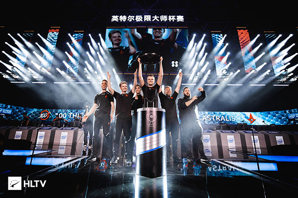 Astralis looked unstoppable at IEM Beijing earlier this month (Photo via HLTV)