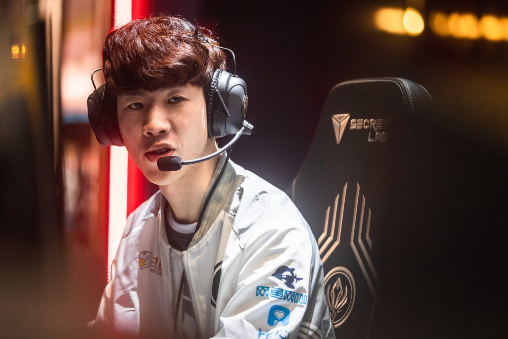 Rumors claiming TheShy is leaving the Invictus Gaming League of Legends team have been circulating for a few weeks now (Photo by David Lee/Riot Games)