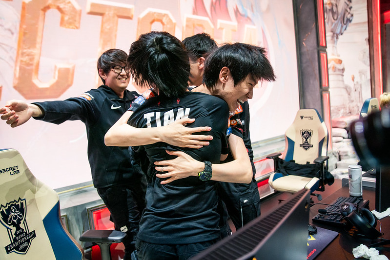 FunPlus Phoenix will need to close out early leads if they want to beat G2 (Photo via Michal Konkol/Riot Games)
