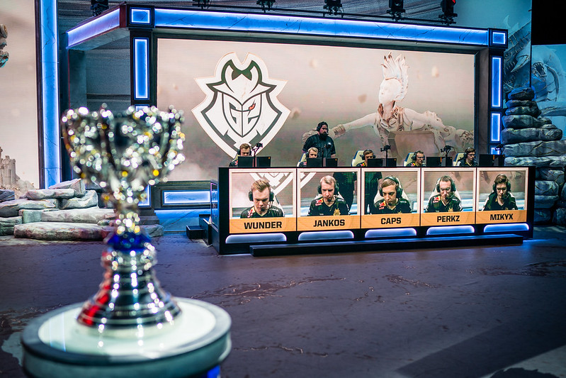 Emphasis on side lane play could be key for G2 at the Worlds 2019 Finals (Photo by Michal Konkol/Riot Games)