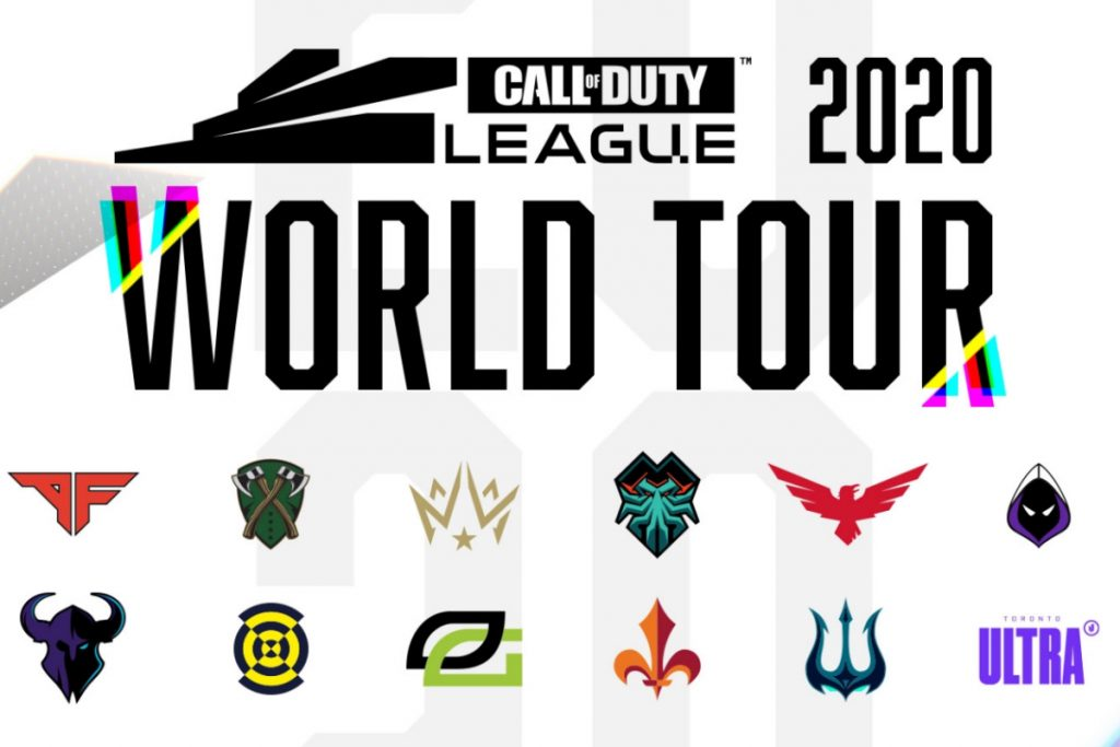 Call of Duty League will take place around the world in 2020. (Image via Call of Duty League)
