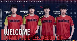 Shanghai Dragons Complete 2020 roster
