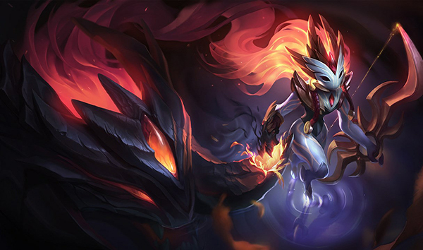A two-star Kindred can be key to making the Light comp start rolling quickly (Image via Riot Games)