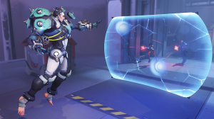 The reduction of shield values for several main tanks on the Overwatch PTR looks to end the double shield meta (Image via Blizzard)