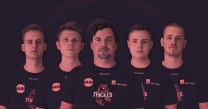 The Tricked Esport roster finished second at WePlay Forge of Champions recently (Image via Tricked Esport)