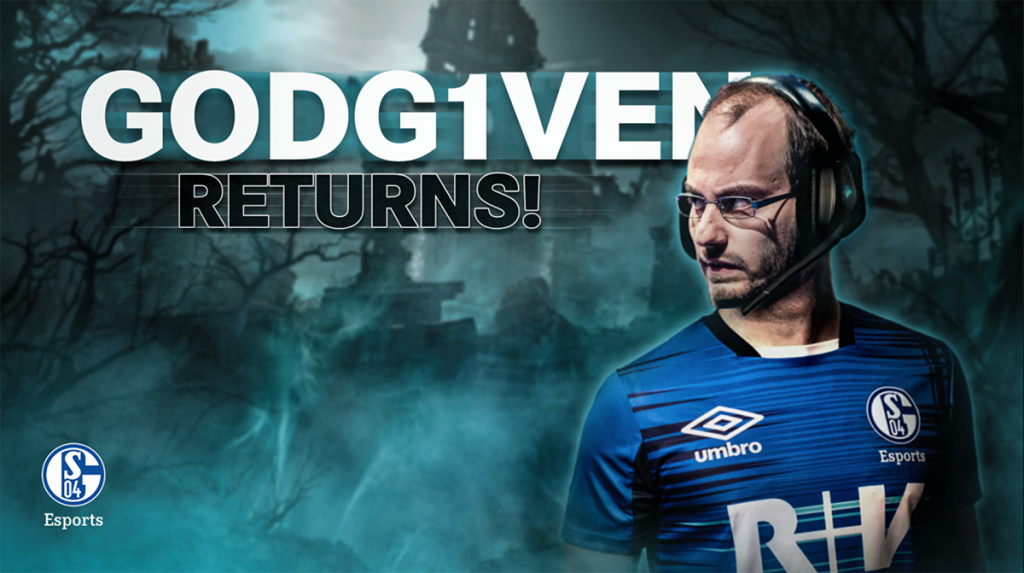 FORG1VEN was always a fan favorite player dating back to the early days of the EU LCS (Image via Schalke 04)