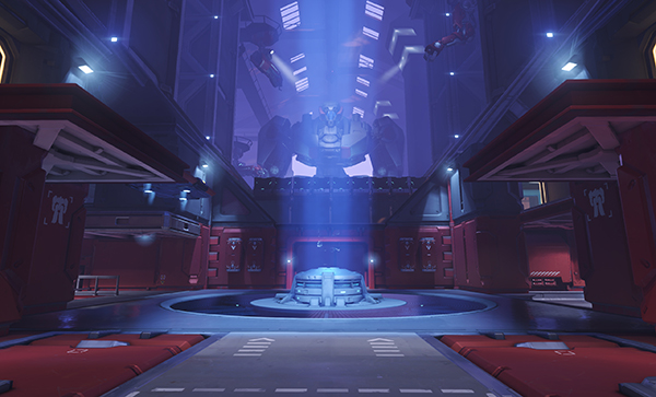 Point B of Volskaya Industries (Image via Blizzard Entertainment)
