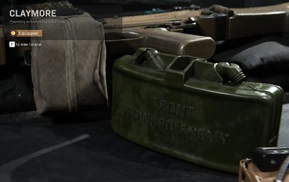 Modern Warfare Patch 1.07 claymore