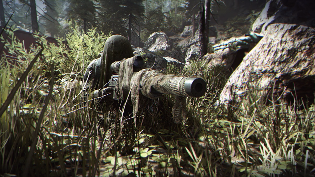 Which guns sit at the top of our Call of Duty: Modern Warfare tier list (Image via Activision Blizzard)