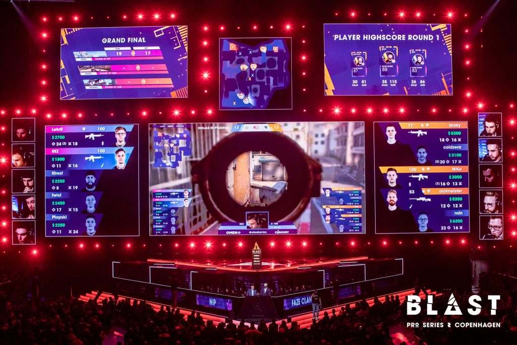 Faze Clan, Ninjas in Pyjamas, Astralis and Liquid will compete at the Blast Pro Series Global Finals (Photo via Blast Pro Series)