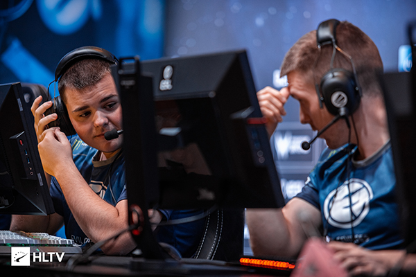 EG have been streaky, can they put together another tournament win? (Photo via HLTV)
