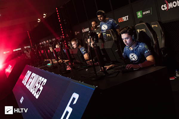 Evil Geniuses have been the hottest team in CSGO since re-entering the scene (Photo via HLTV)