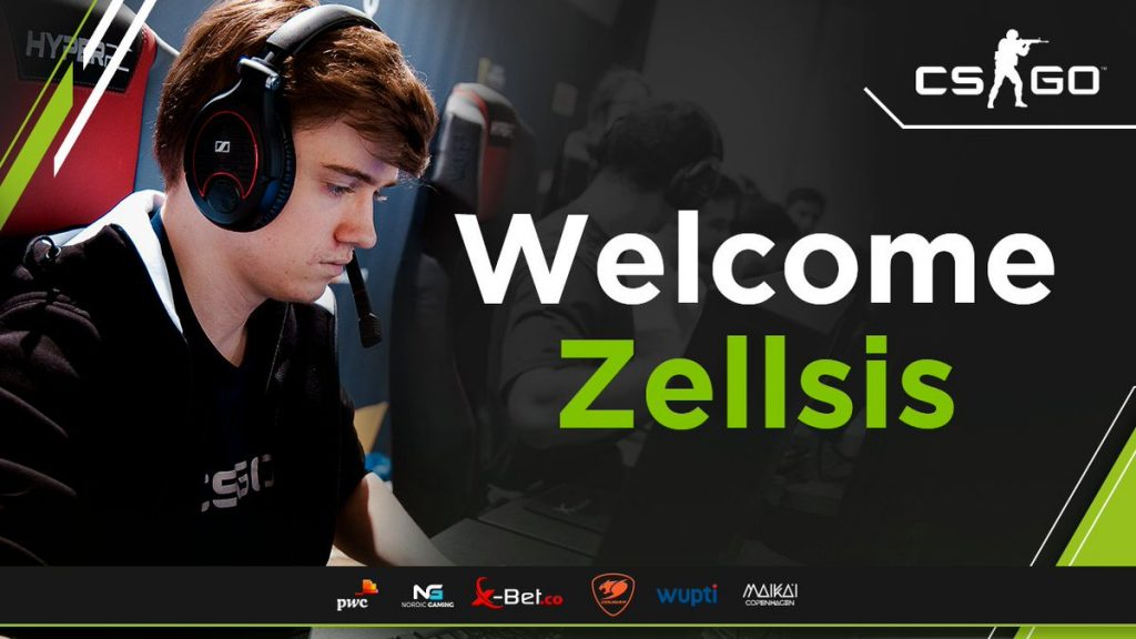 Zellsis will occupy the roster slot left by wrath, who had parted ways with Singularity in late-October (Image via Team Singularity)