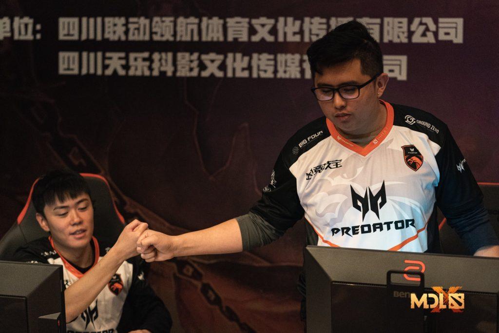 TNC Predator has a lot to celebrate, having taken one step closer to the Grand Finals (Photo via Mars Media)