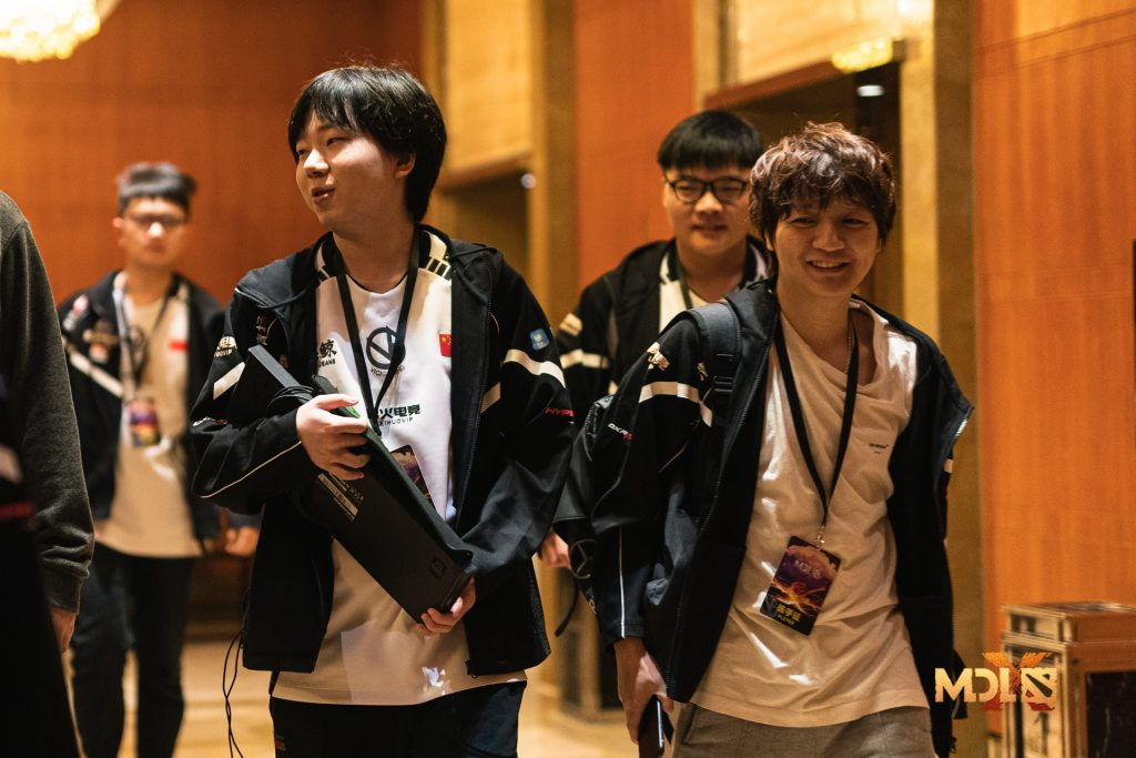Vici Gaming knocked off undefeated TNC Predator to head to the Finals of the MDL Chengdu Major (Photo via Mars Media)