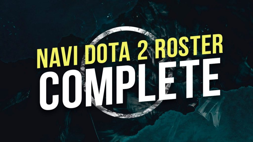 Na'Vi had been without a confirmed five position for over a month (Image via Natus Vincere/Twitter)