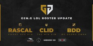 Gen.G has reshaped their roster and built around Ruler in the Bot Lane (Image via Gen.G/Twitter)