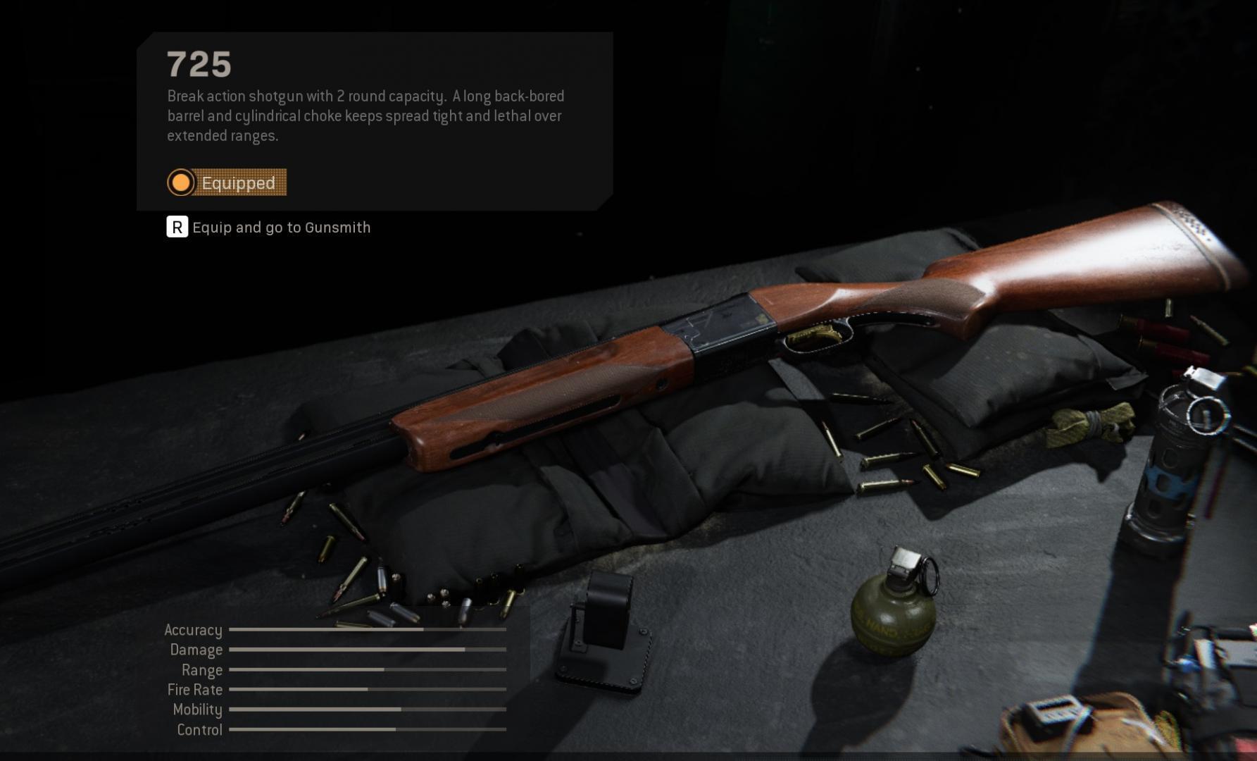 Modern Warfare Patch 1.07 725