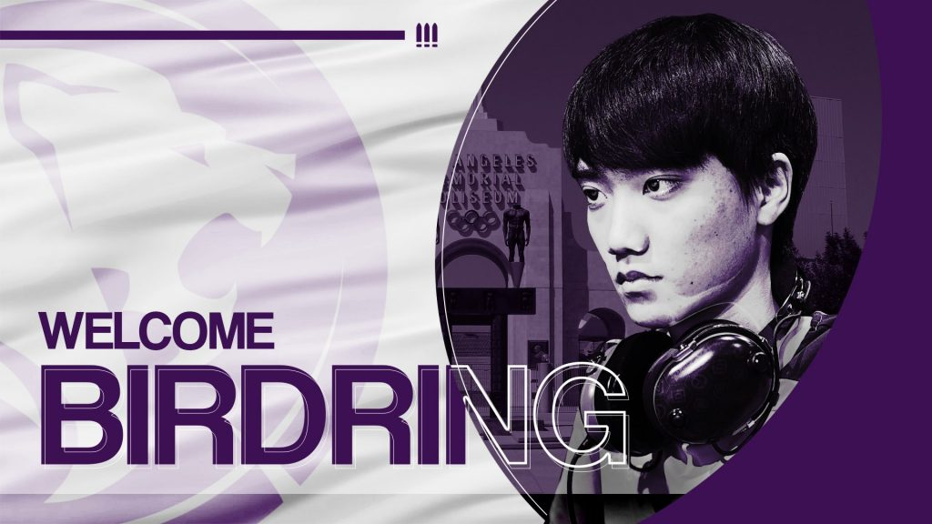 Birdring fills a big hole in the lineup for the new-look Gladiators (Image via LA Gladiators/Twitter)