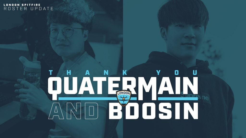 With this release, no player from the London Spitfire's 2018 Grand Champion team remains with the organization (Image via London Spitfire)