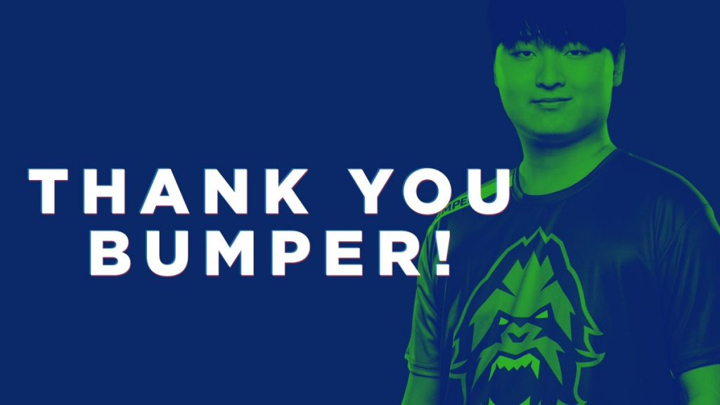 Less than 24 hours after signing Fissure, Bumper left the Vancouver Titans (Image via Vancouver Titans)