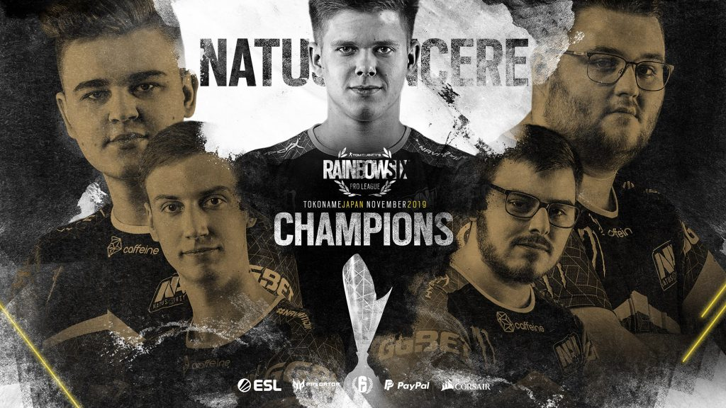 Within two years, Na'Vi went from a brand new R6 organization to the Season 10 Pro League Champions (Image via R6Eesports/Twitter)
