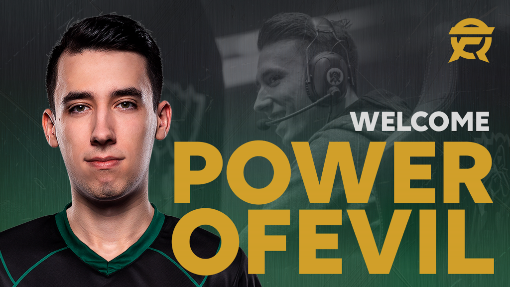 PowerOfEvil replaces Pobelter as the starting mid on Flyquest (Image via Flyquest)