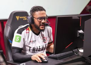 The roster shuffle continues with aphromoo bringing his experience to Dignitas (Photo via Colin Young-Wolff/Riot Games)