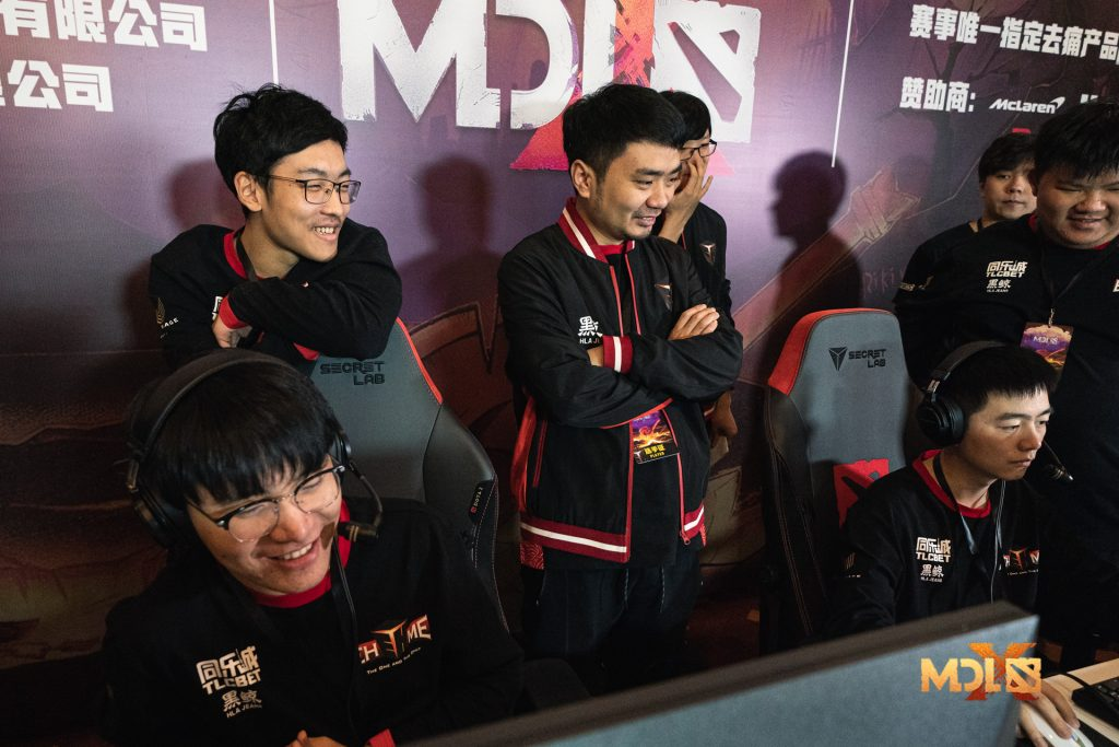 Offlaner Faith_bian will miss games for EHOME following a diagnosis of tenosynovitis (Photo via Mars Media)