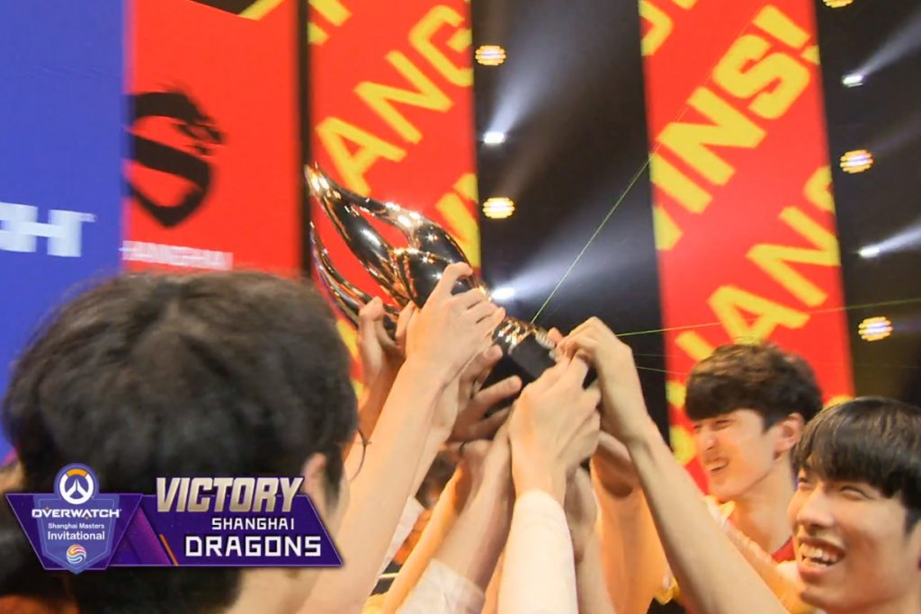 The Dragons had a perfect map record of 7-0 during the tournament. (Image via ESM)
