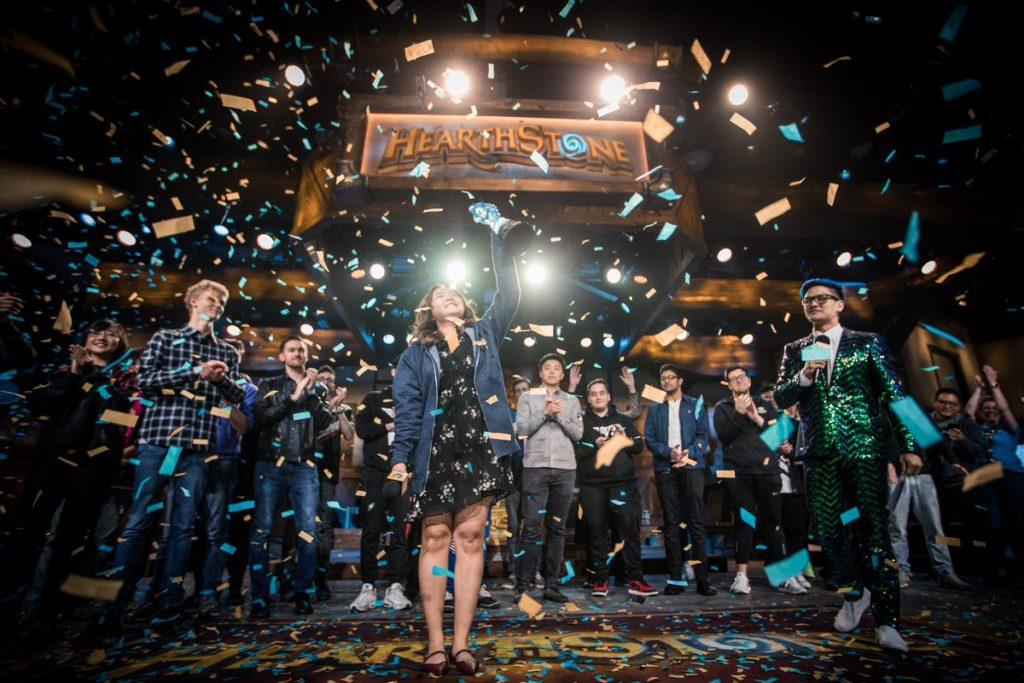 VKLiooon's historic victory at the Hearthstone championship is one of the best esports moments in 2019 (Image via Blizzard Entertainment)