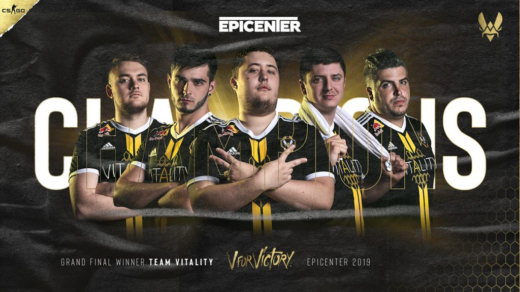 Though the entire team performed well, ZywOo put up a performance for the ages at EPICENTER 2019 (Image via Team Vitality)