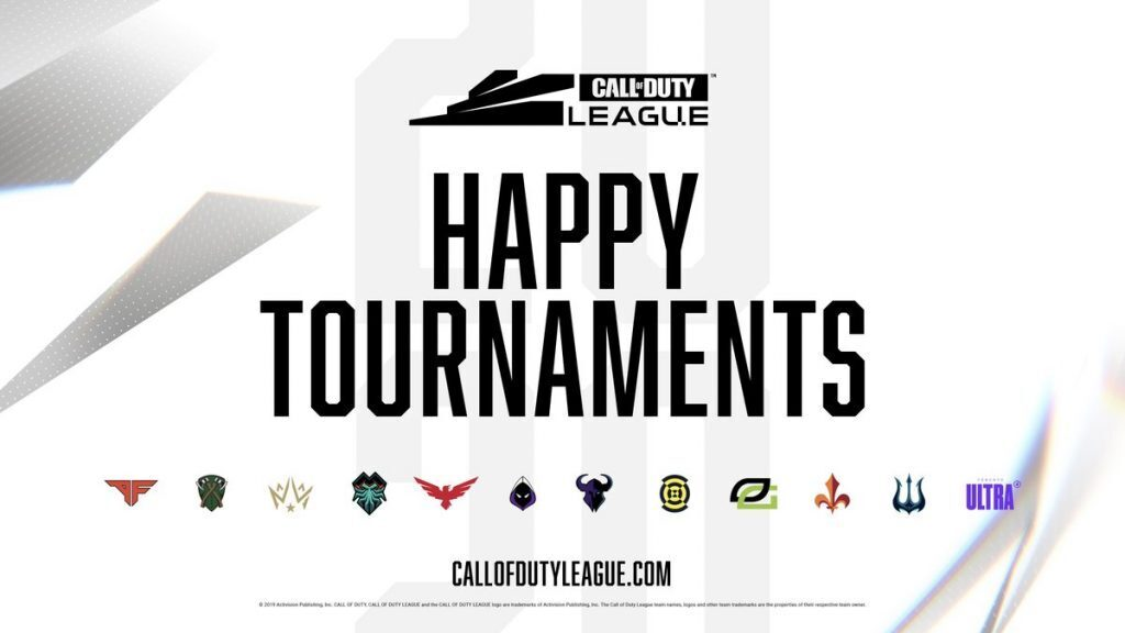 The return of tournaments to the highest level of competitive Call of Duty was cause for celebration for fans and players (Image via CoD League/Twitter)