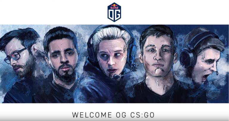 """CS:GO represents everything we cherish about esports,"" OG said in a press release (Image via OG)"
