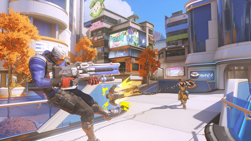 All five maps in the Control game mode will be included in the Overwatch League map pool (Image via Blizzard Entertainment)