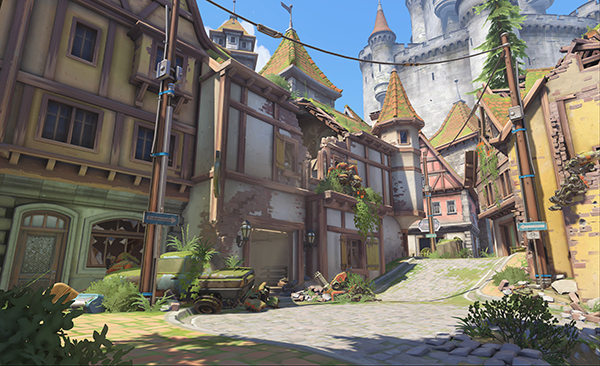 Eichenwalde has found itself added to the map pool to start the 2020 Overwatch League season (Image via Blizzard Entertainment)