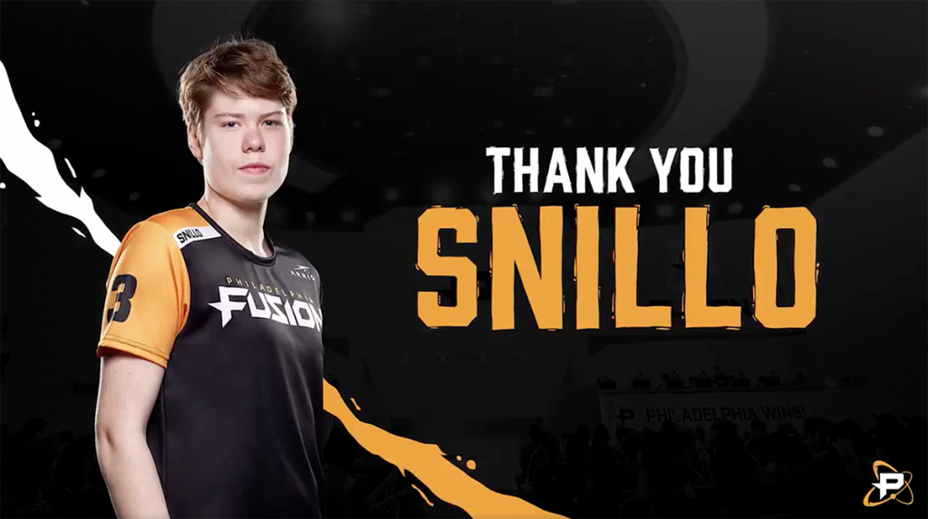 Meta changes led to a diminishing role for Snillo on the Fusion (Image via Philadelphia Fusion)