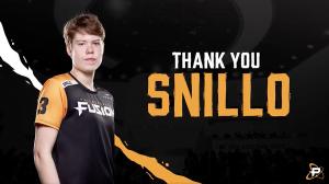 Snillo Released by Philadelphia Fusion