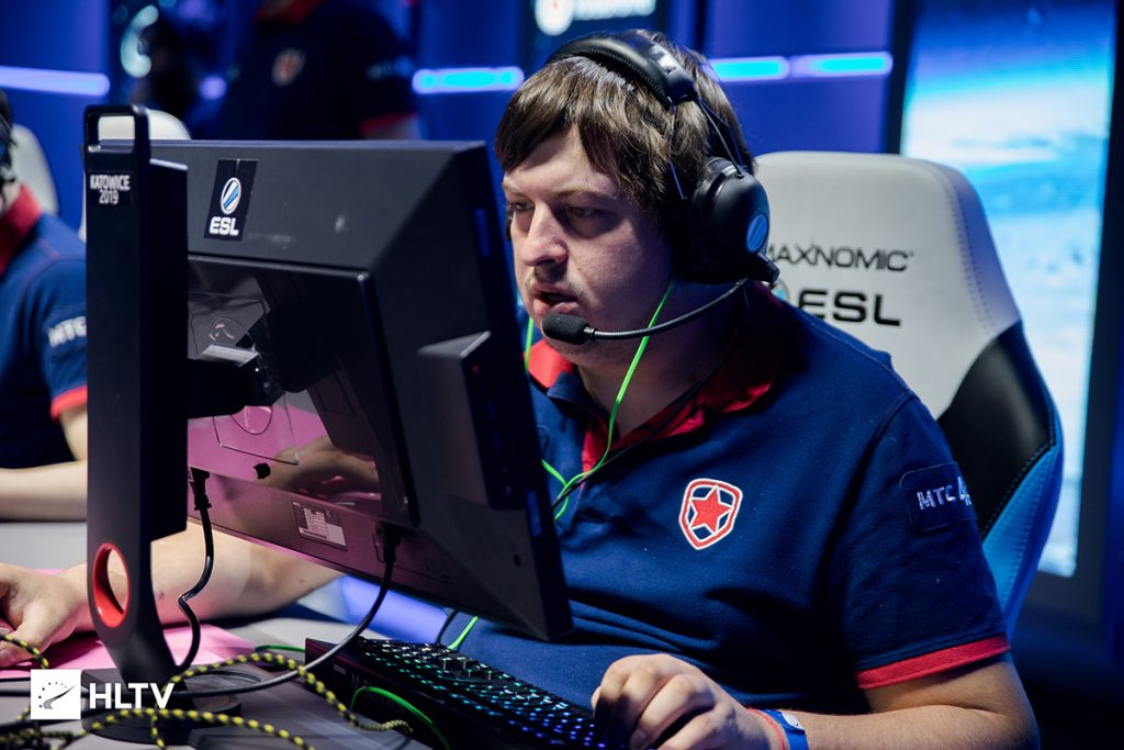 Dosia and Mou had been with Gambit since January 2016 (Photo via HLTV)
