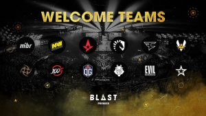 BLAST Announces Teams for BLAST Premier 2020
