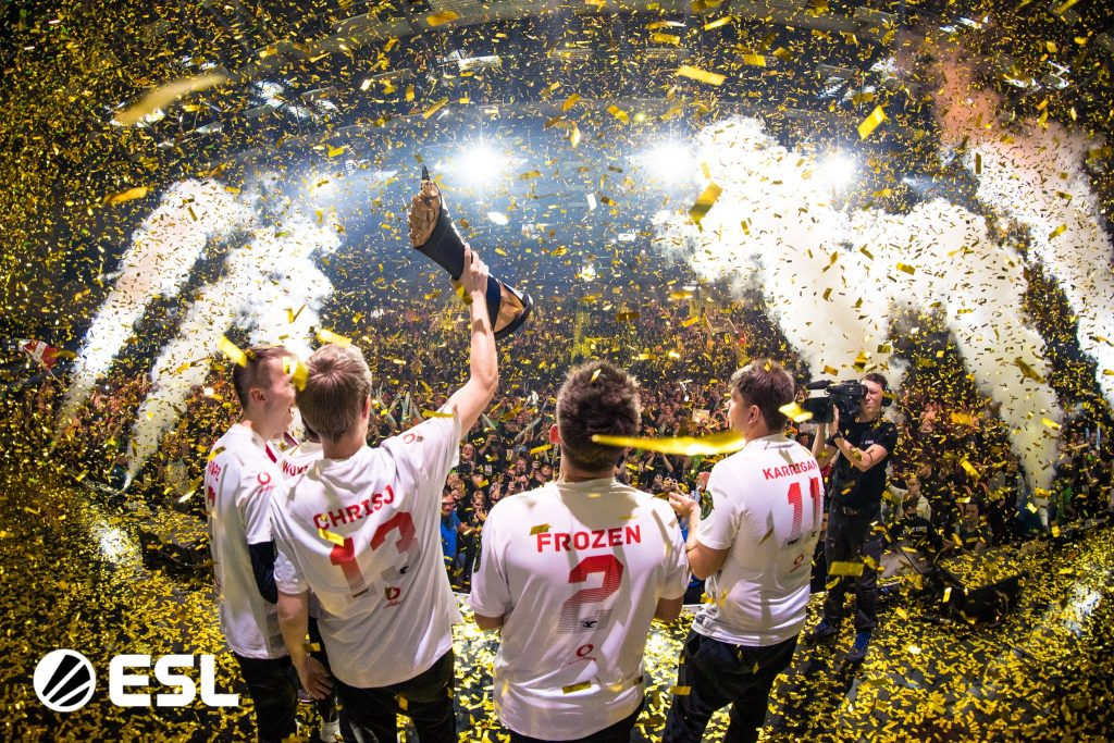 Mousesports finally broke through at the ESL Pro League Season 10 Finals (Photo via ESL)