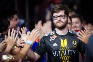 NBK- has been outspoken on social media, saying he felt betrayed at his sudden removal from Team Vitality (Photo via HLTV)