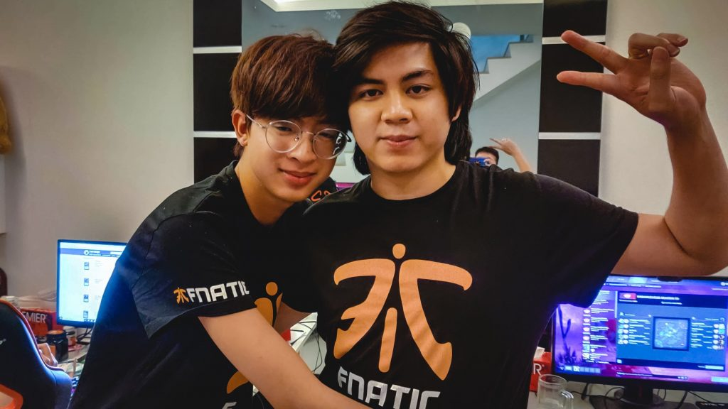 Fnatic went 10-0 in their search for a spot at the DreamLeague Season 13 Major (Photo via Fnatic/Twitter)