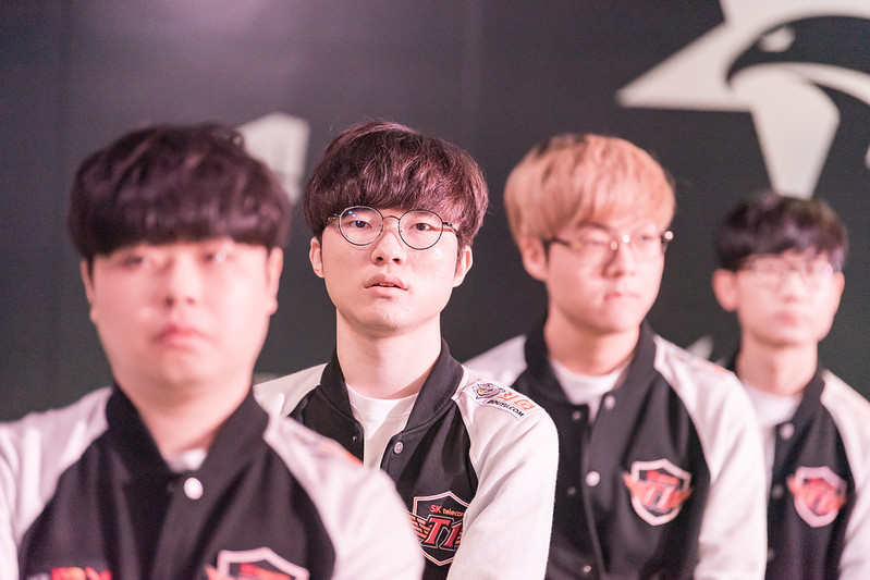 Though there are some excuses, T1 did not look great at the KeSPA Cup (Photo via LCK/Flickr)