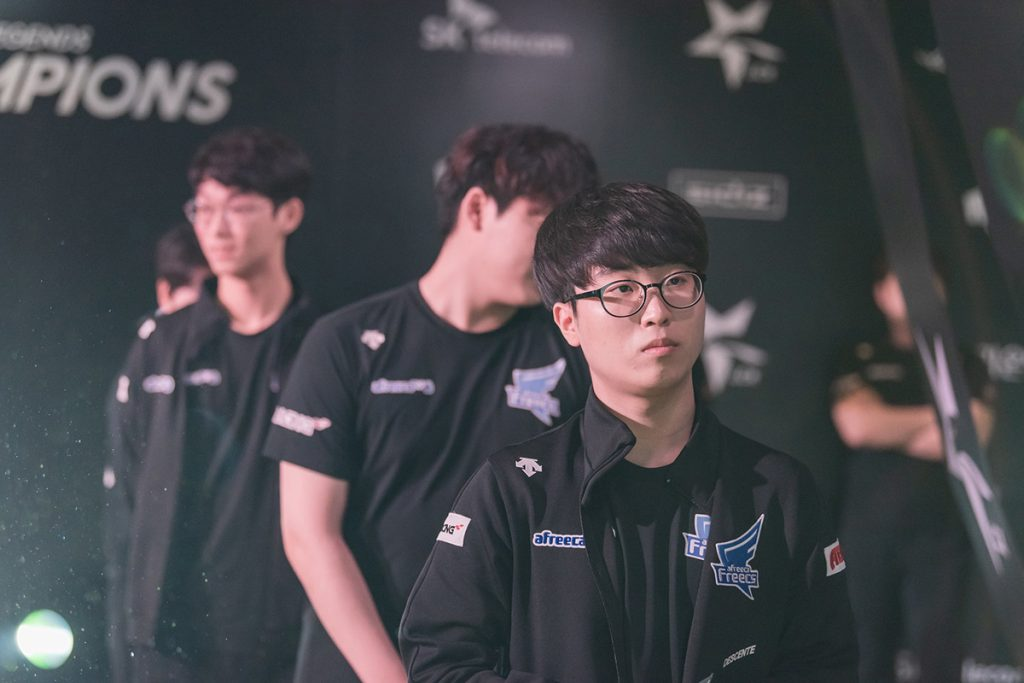 After a dominant performance at the KeSPA Cup, Kiin looks like he is ready to become an elite top laner (Photo via LCK/Flickr)