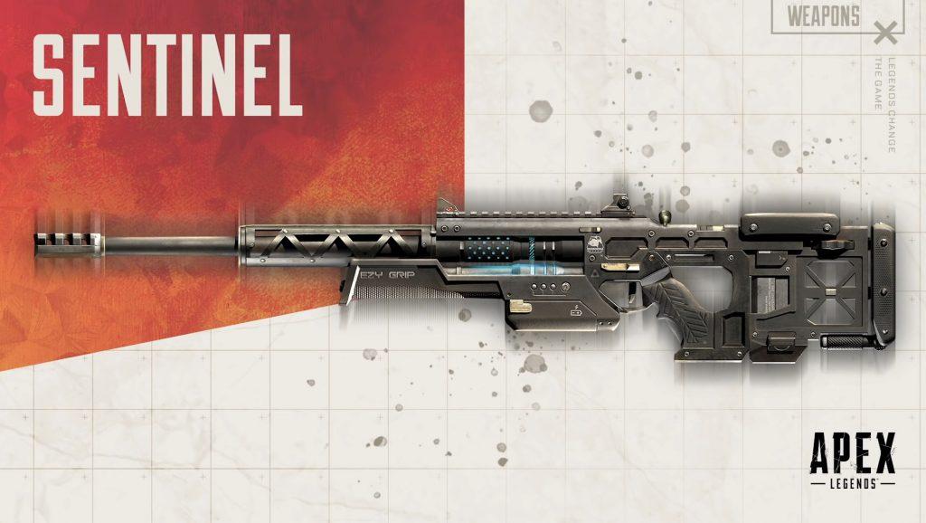 Alex legends Sentinel gun