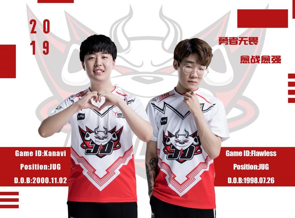 Even though that offered contract was not signed by Kanavi, the act of offering the contract was a violation of LPL rules (Image via JD Gaming)