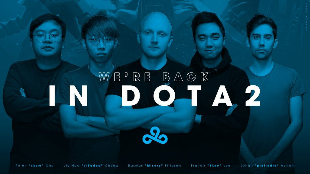 pieliedie and MISERY make their return to C9 in a surprise announcement (Image via Cloud9)