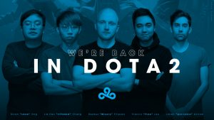 Cloud9 Returns to Dota with Some Familiar Faces